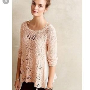 Anthropologie knitted and knotted sylt sweater